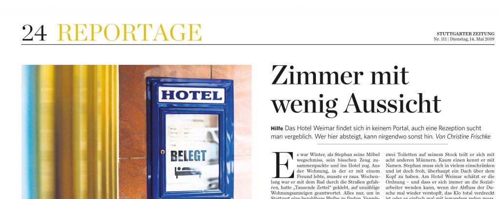 Außenansicht Hotel Weimar