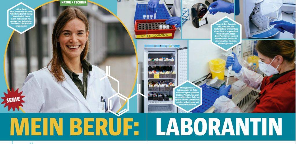 Bild von Heftseite Mein Beruf: Laborantin